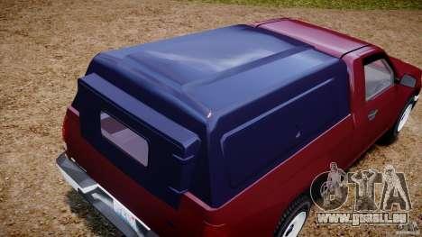 Chevrolet Colorado 2005 pour GTA 4 est un côté