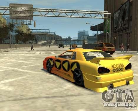 Elegy Tuning für GTA 4 hinten links Ansicht