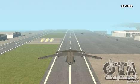 Iljuschin Il-76 MD für GTA San Andreas linke Ansicht