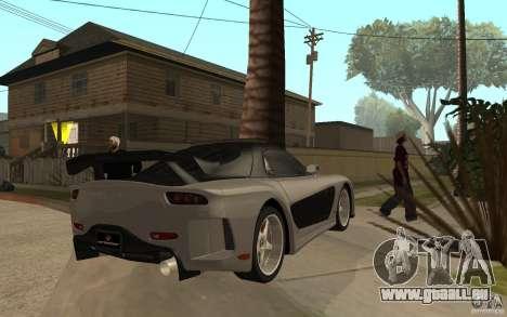 Mazda RX 7 VeilSide Fortune v.2.0 pour GTA San Andreas vue de droite