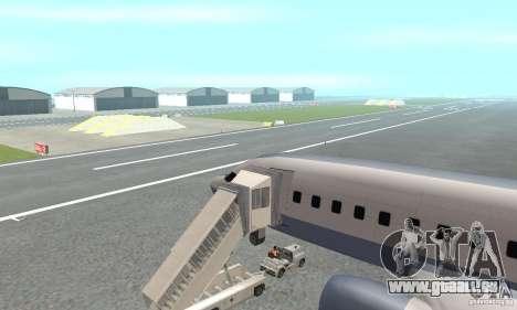 Airport Vehicle pour GTA San Andreas cinquième écran