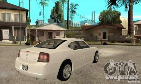Dodge Charger RT pour GTA San Andreas vue de droite