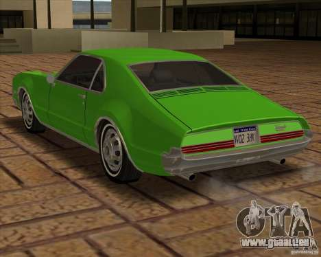 1966 Oldsmobile Toronado pour GTA San Andreas vue arrière