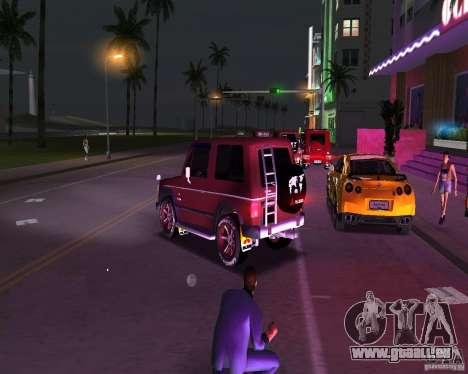 Mitsubishi Pajero pour une vue GTA Vice City de la gauche