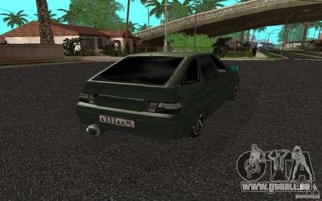 VAZ-2112, c. 2 pour GTA San Andreas laissé vue