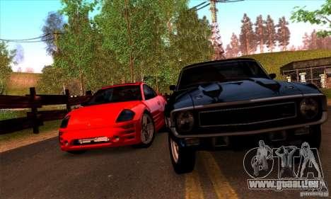 SA gline v4.0 Screen Edition für GTA San Andreas sechsten Screenshot