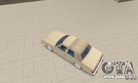 Mercury Grand Marquis LS 1986 pour GTA San Andreas sur la vue arrière gauche