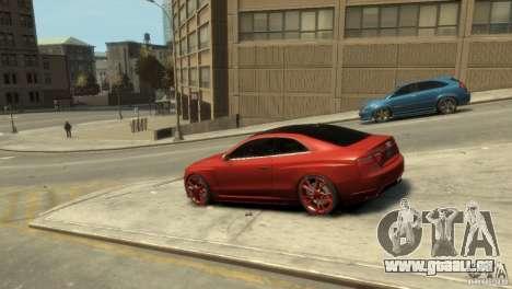 AUDI S5 pour GTA 4 est une gauche