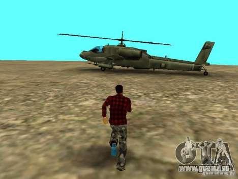 Véhicules neufs autour de l'État pour GTA San Andreas deuxième écran