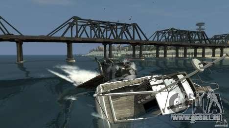 Biff boat für GTA 4 linke Ansicht