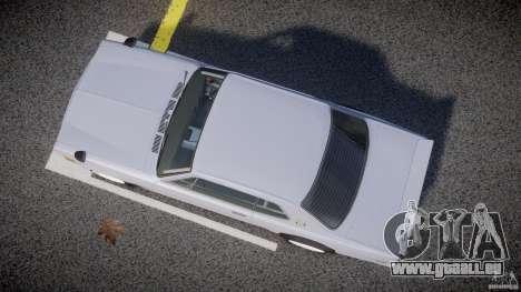 Nissan Skyline 2000 GT-R Drift Tuning für GTA 4 Innenansicht