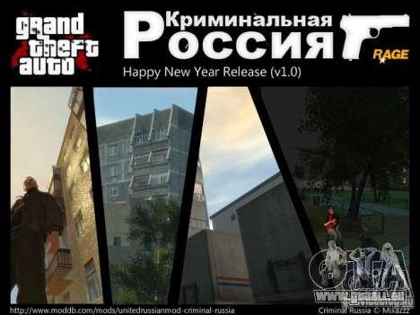 Russie criminelle RAGE pour GTA 4