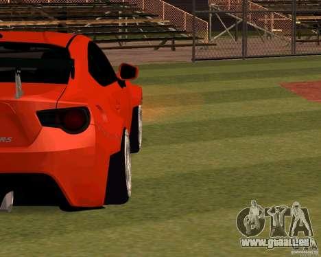 Scion FR13 pour GTA San Andreas vue intérieure