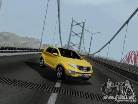 KIA Sportage für GTA San Andreas
