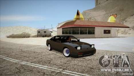 Nissan 240SX S13 für GTA San Andreas Rückansicht