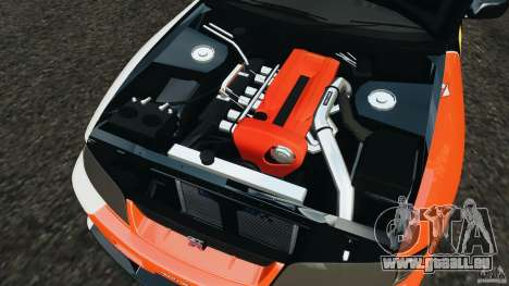 Nissan Skyline GT-R (R33) v1.0 pour GTA 4 vue de dessus