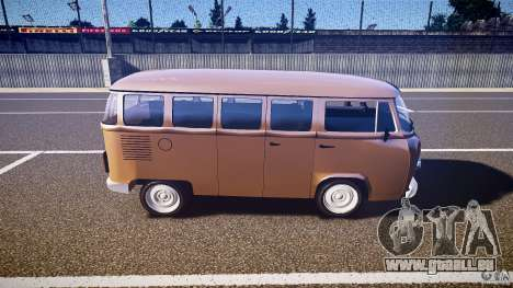 Volkswagen Kombi Bus für GTA 4 linke Ansicht