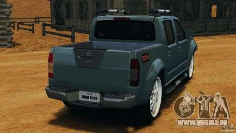 Nissan Frontier DUB v2.0 für GTA 4 hinten links Ansicht