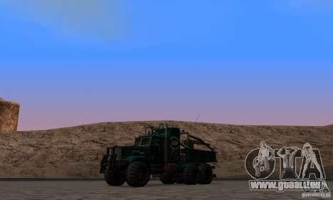 KrAZ 255 B1 Krazy-Crocodile pour GTA San Andreas vue de côté