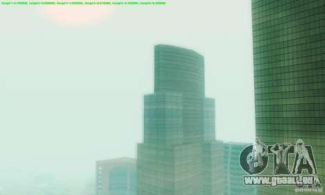 Marty McFly ENB 2.0 California Sun pour GTA San Andreas deuxième écran