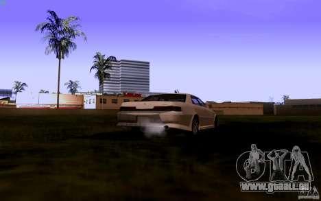 Toyota Mark 2 JZX100 für GTA San Andreas Rückansicht