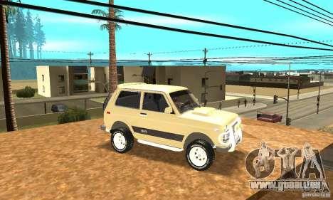 VAZ 21213 4 x 4 pour GTA San Andreas vue de côté