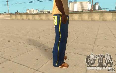 Karl Kan Puzzle Jeans pour GTA San Andreas quatrième écran