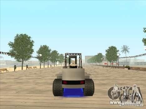 Forklift extreem v2 für GTA San Andreas linke Ansicht