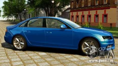 Audi A4 2010 pour GTA 4 est une gauche