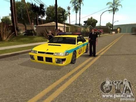 Sultan USSR Police für GTA San Andreas linke Ansicht