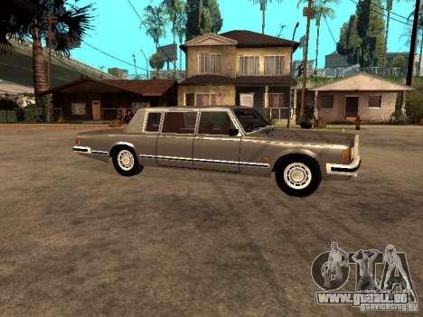 ZIL 41047 pour GTA San Andreas sur la vue arrière gauche
