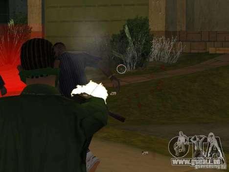 Armes de CLEO pour GTA San Andreas quatrième écran