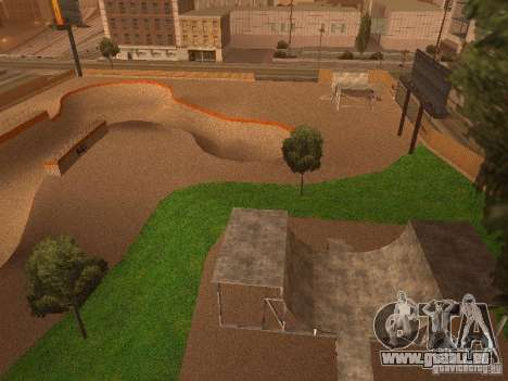 New SkatePark v2 pour GTA San Andreas