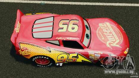 Lightning McQueen pour GTA 4 est un droit