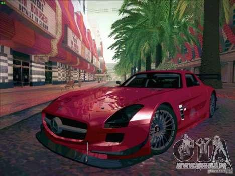 Mercedes-Benz SLS AMG GT-R pour GTA San Andreas vue arrière