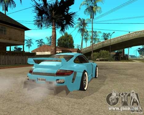 Porsche 911 Turbo Grip Tuning für GTA San Andreas zurück linke Ansicht