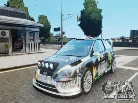 Ford Focus RS WRC pour GTA 4