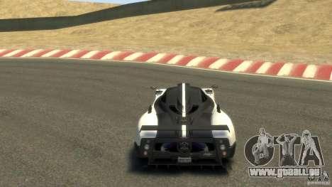 Pagani Zonda Cinque 2009 pour GTA 4 est un droit