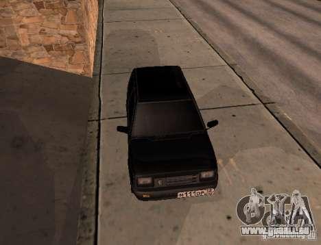 Oka pour GTA San Andreas sur la vue arrière gauche