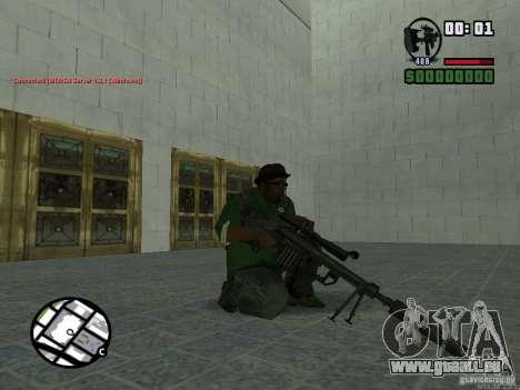 Black Weapon by ForT pour GTA San Andreas cinquième écran