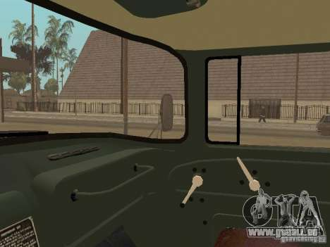 ZIL 131 camion pour GTA San Andreas vue de côté