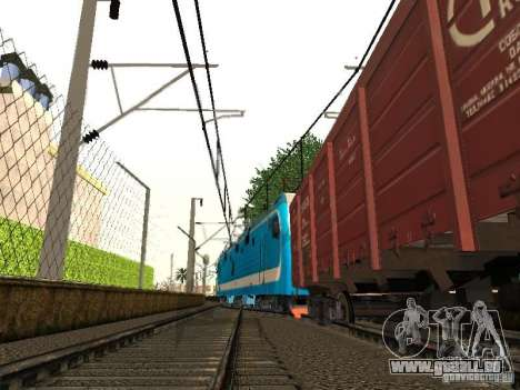 Animtrain für GTA San Andreas fünften Screenshot