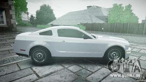 Ford Shelby GT500 für GTA 4 linke Ansicht