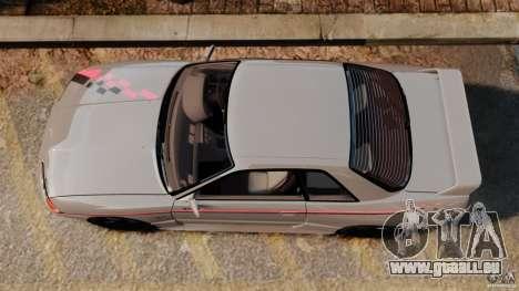 Nissan Skyline GT-R (BNR32) für GTA 4 rechte Ansicht