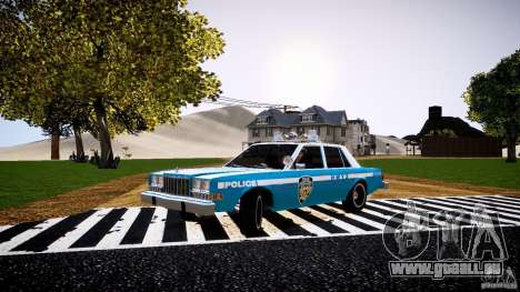 Dodge Diplomat 1983 Police v1.0 für GTA 4