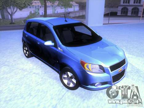 Chevrolet Aveo LT pour GTA San Andreas