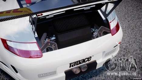 Porsche GT3 RSR 2008 SpeedHunters pour GTA 4 Vue arrière