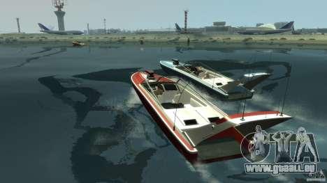 Tuned Jetmax pour GTA 4 Vue arrière de la gauche