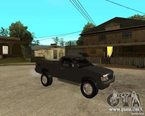 Chevrolet S-10 pour GTA San Andreas vue de droite
