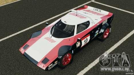 Lancia Stratos v1.1 für GTA 4 Unteransicht